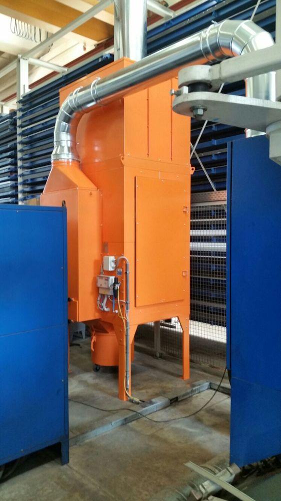 Revisione impianto filtrazione taglio laser - 2
